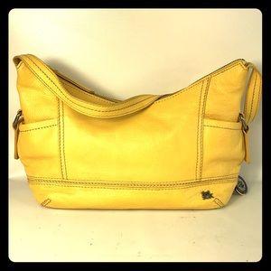 Leather mustard the Sak shoulder bag